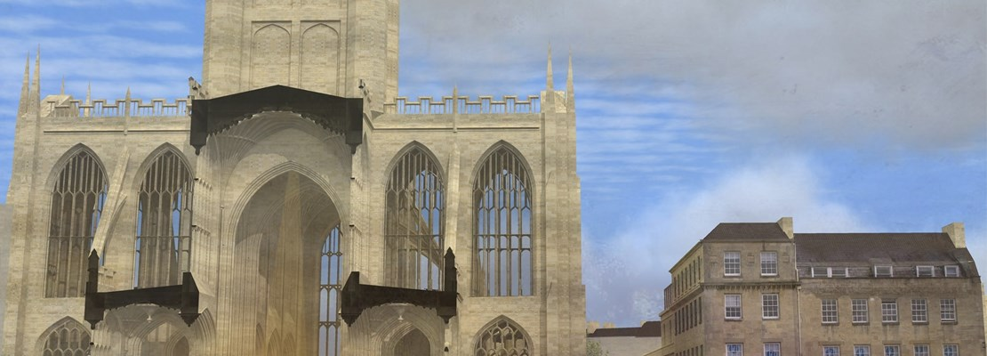 *SOLD OUT* Bath Abbey Footprint – Site Tour and Talk