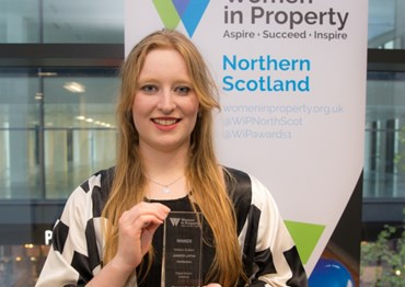 Jennifer Laffan wins Northern Scotland Student Awards