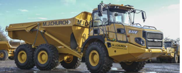 Learn to drive a digger with MJ Church