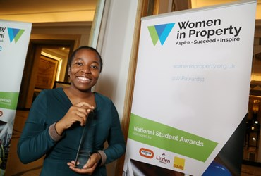 Architectural Technology student is Women in Property 'Best of the Best' winner, 2019 National Student Awards