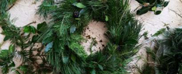 SOUTH WEST: Christmas Wreath Making Workshop