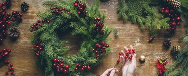 NORTHERN SCOTLAND: Christmas Wreath Making & Networking