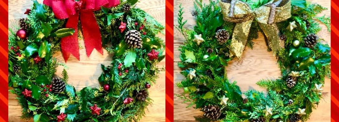 SOUTH WALES: Christmas Wreath Making
